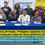 Sob nova direção, Fetigesc ajudará os STIGs na negociação salarial